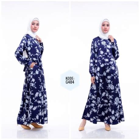 Dress Syari royal syari dress g484 baju style ootd