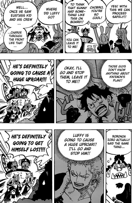 Read One Piece Chapter 979: Family Problems on Mangakakalot