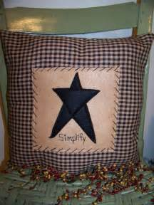 primitive pillows make these felt country corner