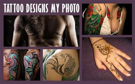 design a tattoo app designs photo editor