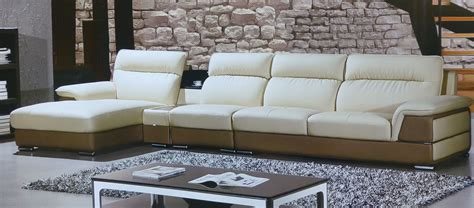 camel leather sectional hover camel leather modern sectional sofa set
