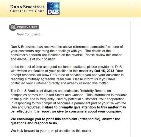 Complaint Letter Email Subject Phishingpier Dnb Complaint Malware Quot Dnb Complaint Quot