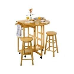small dinette set 3 pc wood breakfast nook dining table