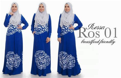 Sxf1t3l Black Dress Dress Hitam Dress Biru Blue Dress Dress Pesta norzi beautilicious house jubah rossa limited edition