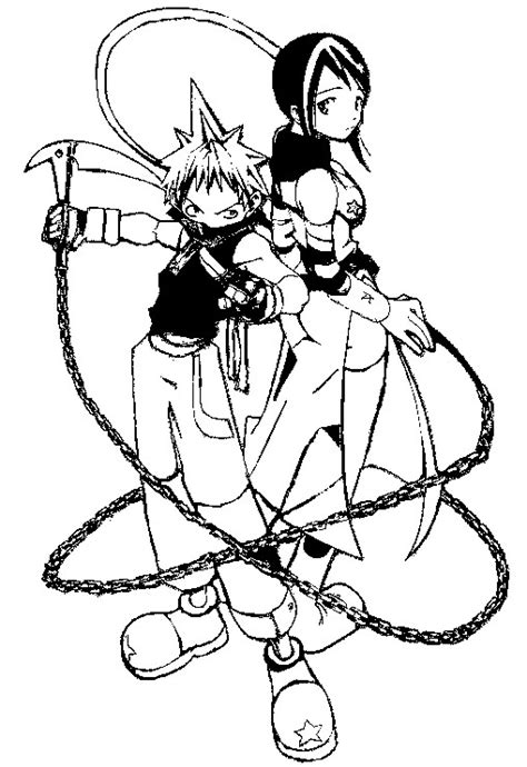 Soul Eater Free Colouring Pages Soul Eater Coloring Pages