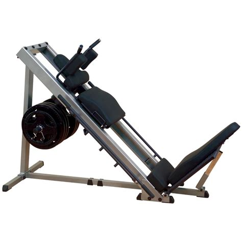 solid leg press hack squat machine