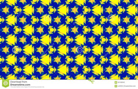 seamless geometric pattern with different