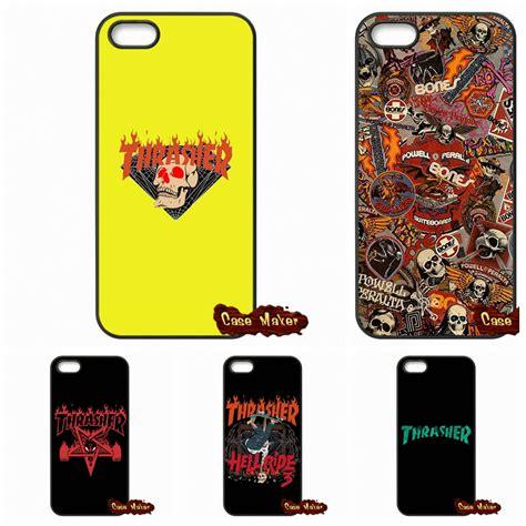 thrasher logo fashion original cover for iphone se 4 4s 5s 5 5c 6 6s plus samsung galaxy s3