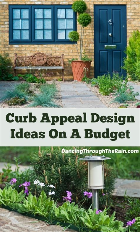 curb appeal design curb appeal design ideas on a budget