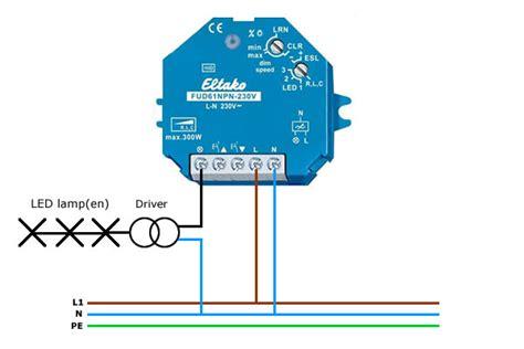 dimmen led verlichting aansluiten hoe dim je draadloos led verlichting met de fud61npn led