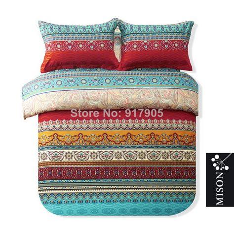 boho king size bedding fashion bohemian comforter bedding sets luxury boho