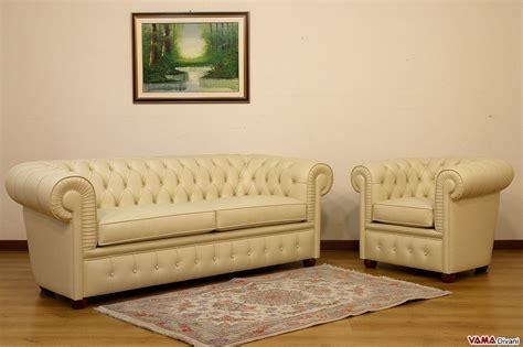 divano e poltrona divano chesterfield 2 posti maxi due cuscini large