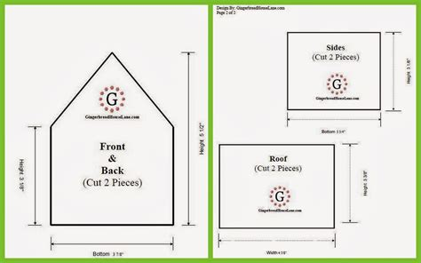 gingerbread house template facs classroom ideas gingerbread houses