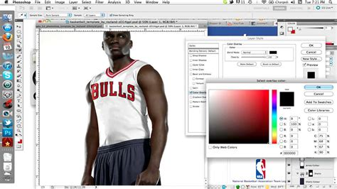 nba jersey design editor how to edit workdmarks on a psd uniform template youtube