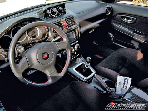 2005 Subaru Wrx Sti Interior chris thys 2005 subaru wrx sti modified magazine