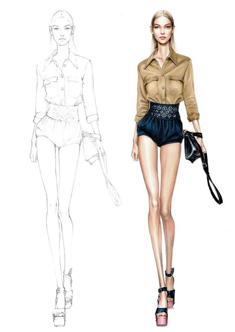 figure templates for fashion illustration 17 best ideas about drawing fashion on fashion