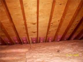 how to inspect the attic insulation ventilation and interior course page 260 internachi