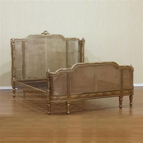 wicker beds french curved rattan bed eclectic beds by bate