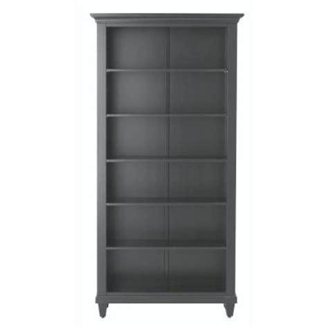 Black Open Bookshelf Home Decorators Collection Martin 6 Shelf Open Bookcase In