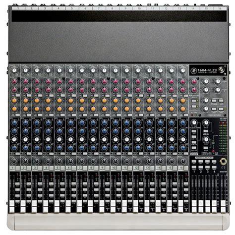 Mixer Mackie China mackie 1604 vlz3 premium 16 channel 4 compact mixer