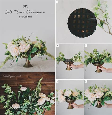Silk Flower Wedding Centerpiece by Diy Silk Flower Centerpiece Afloral
