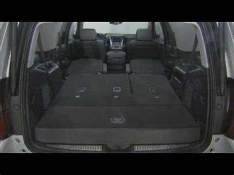 chevy tahoe third row seat removal 2015 chevrolet suburban tahoe how to fold 2nd 3rd row