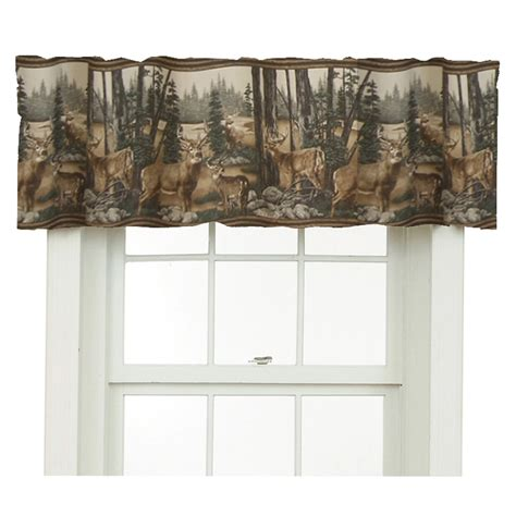 whitetail deer curtains total fab rustic whitetail deer bedding and curtains