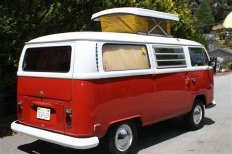 sell   vw westfalia pop top montana red  scotts valley california united states
