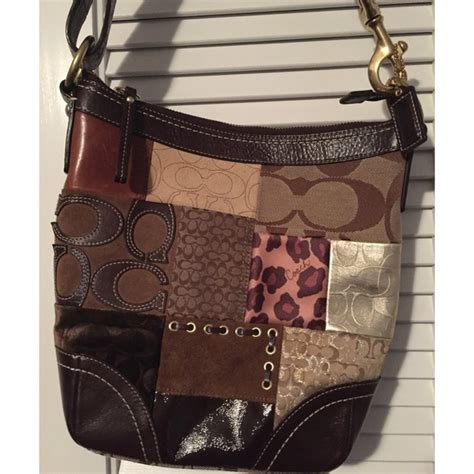 Coach Patchwork Purse Collection - 63 coach handbags patchwork coach bag from tara s