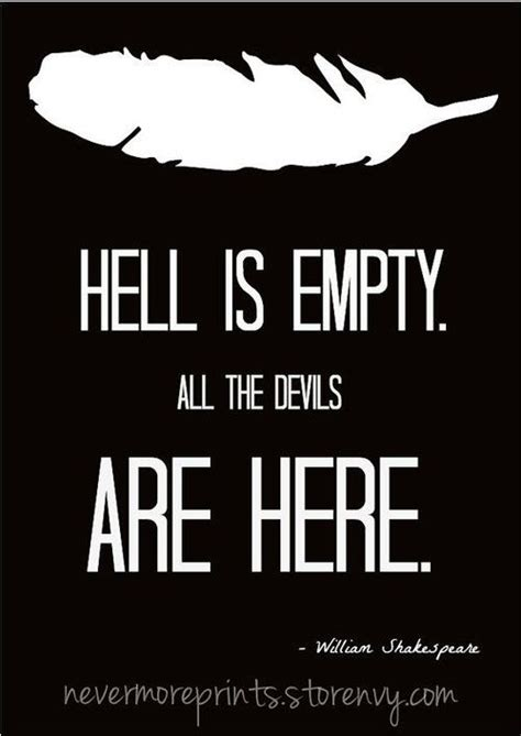 all the devils are here books hell is empty all the devils are here william