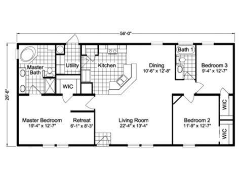 wayne frier mobile homes floor plans view pine floor plan for a 1494 sq ft palm harbor