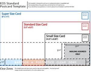 Standard Postcard Template by Usps Postcard Templates Postal Regulations We Print And