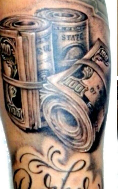 money tattoos meanings and design inkdoneright com