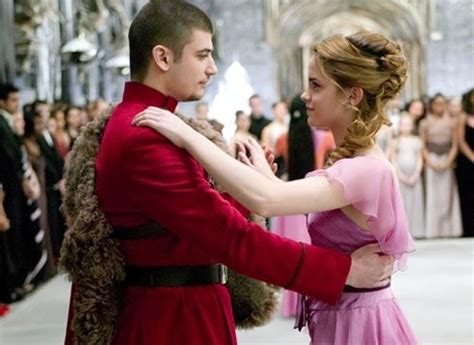 emma watson yule ball hairstyle hermione viktor krum at the yule ball quot mischief