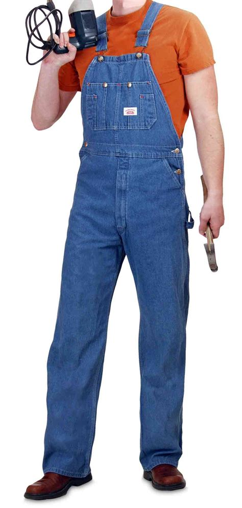 House Overalls by 699 House Made In Usa Washed Blue Denim