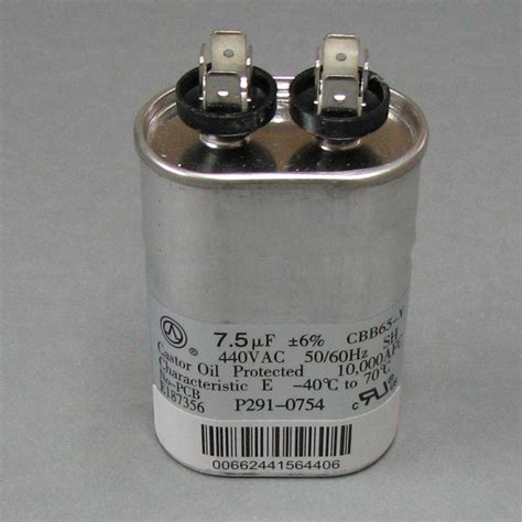 carrier bryant capacitor carrier capacitor p291 0754 p2910754 18 00 shortys hvac supplies on price
