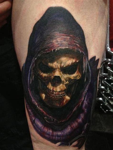 skeletor tattoo skeletor by andy engel kayvan