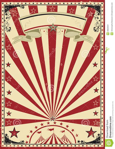 imagenes retro y vintage circus red vintage stock vector illustration of circus