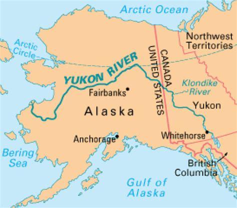 yukon river map alaska halts 2014 chinook salmon fishing on yukon river cbc news