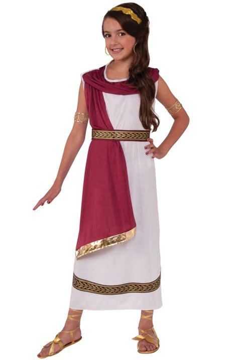 ruby greek goddess child costume small purecostumescom