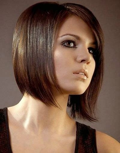 duennes glattes haar frisuren trendige kurzhaarfrisuren