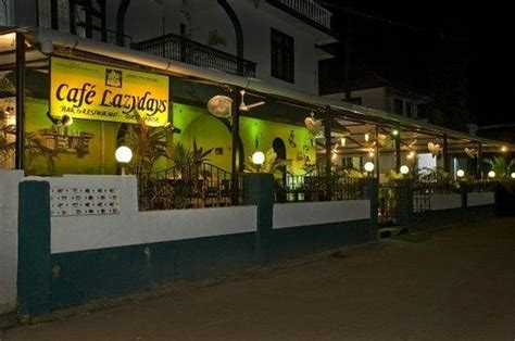 lazy cafe lazy days csm road baga goa cafe lazy days calangute