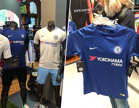 Trening Chelsea Home Away chelsea 2017 18 kit home and away strips leaked