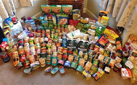 food bank aid from staff the sixth form college