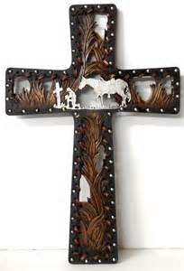 praying cowboy and home decor wall hanging christian