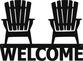 Where To Buy Adirondack Chairs Welcome Adirondack Chairs Metal Sign Art Beach House