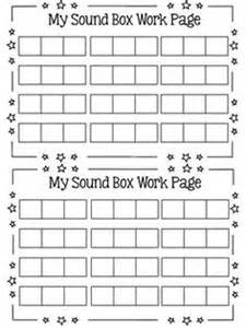 elkonin boxes template sound box elkonin boxes work pages