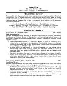 professional medical representative sample resume - Sample Resume For Medical Representative