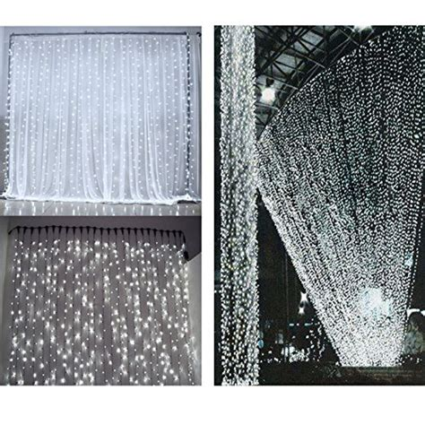 le led window curtain icicle lights 306 led string fairy