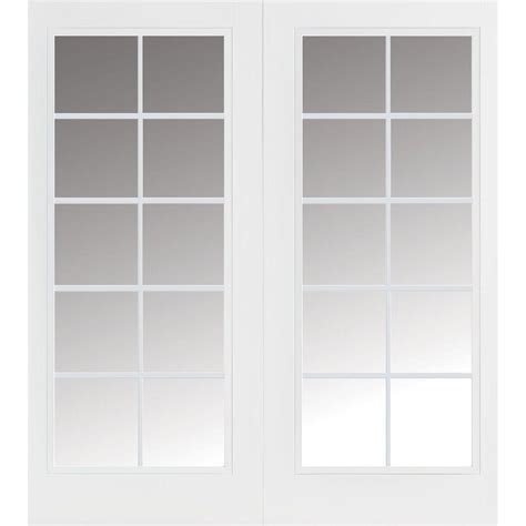 American Craftsman 72 In X 80 In 50 Series White Vinyl Home Depot Sliding Glass Patio Doors